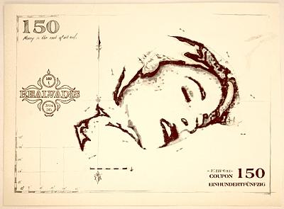 "REALVADIS Sachwertkupon 150 ""Blissful sensation"" by Bill d'Amacha"